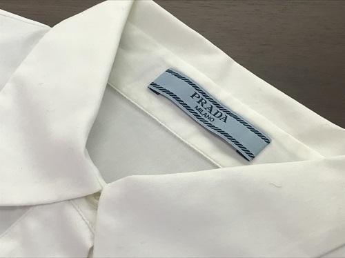 プラダ(PRADA) シャツ ホワイト #36 宅配買取