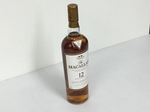 マッカラン(MACALLAN) 12年 700ml ウイスキー お酒 出張買取