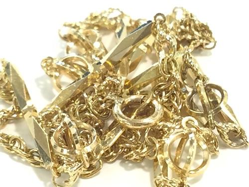 18金のネックレス K18買取 首飾り 750 貴金属買取 7.3グラム アクセサリー 金製品買取 MARUKA 京都北山店 貴金属を売るなら