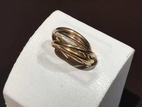 カルティエ(CARTIER) トリニティ 7連 リング ジュエリー 指輪 K18 750