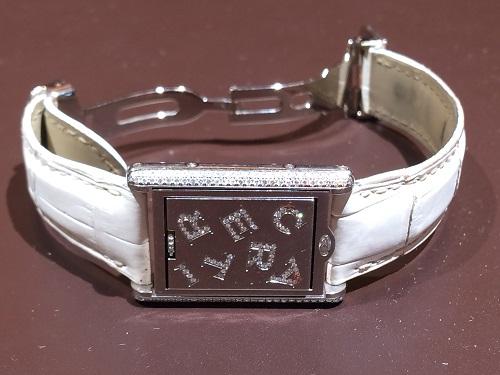 カルティエ(CARTIER)買取 タンクバスキュラント 750WG パヴェダイヤ 限定品 MARUKA 京都北山店 腕時計を売るならMARUKA