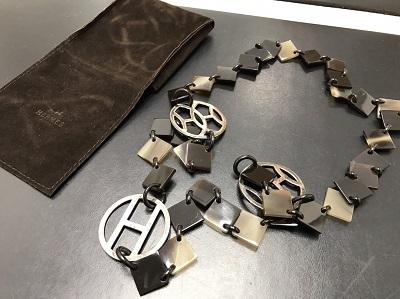 HERMES エルメス バッファローホーン ネックレス 美品 高価買取 七条店