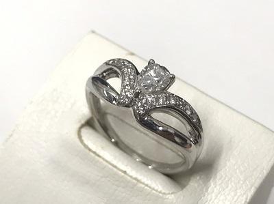 プラチナPt900ダイヤモンド0.56ジュエリー整理品 買取 渋谷 マルカ