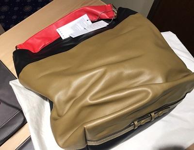 MARNI(マルニ)ワンショルダー レザーバッグ カーキ未使用 渋谷買取