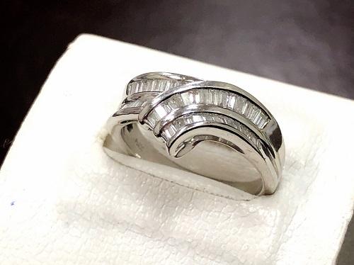 ダイヤモンドプラチナリング買取 0.53ct ダイヤモンド買取 宝石買取 MARUKA心斎橋店