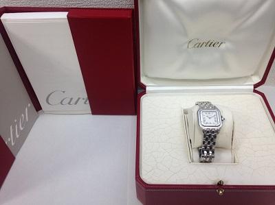 カルティエ(Cartier) パンテールSM W25033P5 SS 完品 カルティエ買取 神戸 三宮 元町
