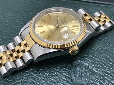 ROLEX ロレックス デイトジャスト メンズ Ref.16233 腕時計 高価買取 七条店