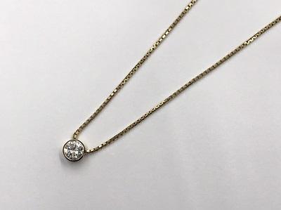 ダイヤモンド ラウンドブリリアントカット ペンダント 1.28ct PT900 ダイヤモンド買取 神戸 三宮 元町