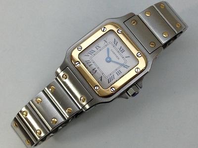 カルティエ(Cartier) サントスガルベ SM W20012C4 SS×YG 本体のみ カルティエ買取 神戸 三宮 元町