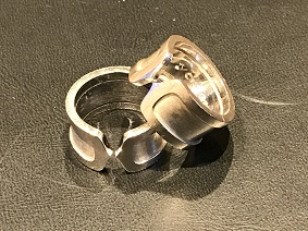 Cartier カルティエ 2Cリング ホワイトゴールド ブランドジュエリー買取