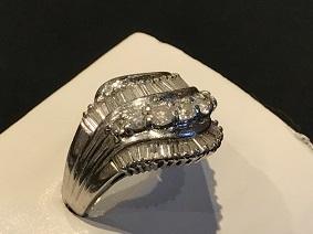 ダイヤモンドリング Pt900 プラチナ 福岡 宝石買取 ジュエリー買取 天神大名 質屋