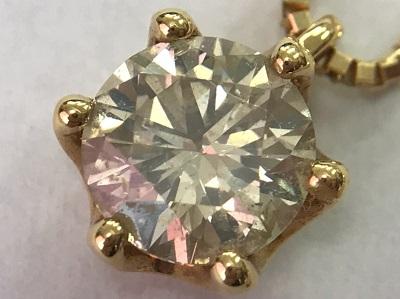 ダイヤモンド ラウンドブリリアントカット 1.013ct K18 ダイヤモンド買取 神戸 三宮 元町