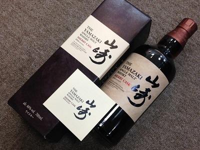 サントリー(SUNTORY) 山崎 シェリーカスク 2016 (THE YAMAZAKI SINGLE MALT WHISKY SHERRY CASK 2016 EDITION) お酒買取 神戸 三宮 元町