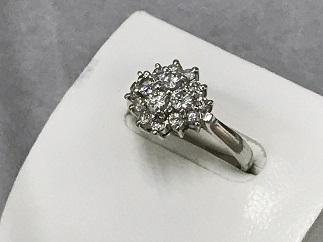 ダイヤモンドリング Pt900 0.66ct プラチナ 質屋 福岡 ジュエリー買取 天神 大名 博多 赤坂 薬院