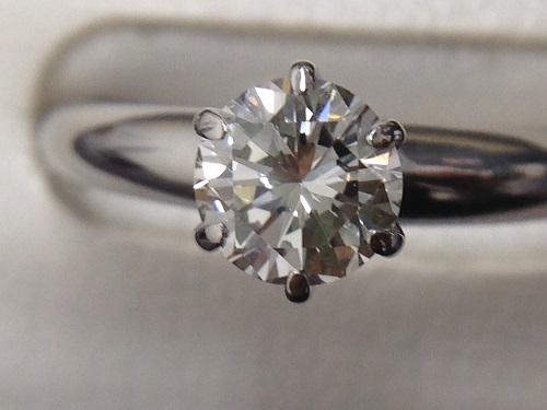 ダイヤモンドリング VSクラス プラチナ 宝石 Pt900 宅配買取