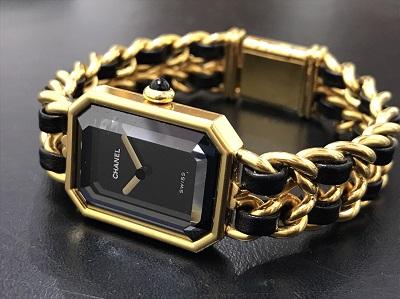 CHANEL シャネル プルミエールM GP 腕時計 レディース 高価買取 七条店