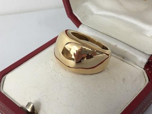 カルティエ(Cartier) ヌーベルバーグリング 750YG #54 16.1g 大宮 買取