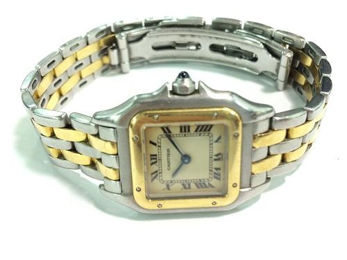 カルティエ買取 パンテールSM買取 SS×YG レディース 腕時計買取 MARUKA 京都北山店 ブランド時計を売るなら?!