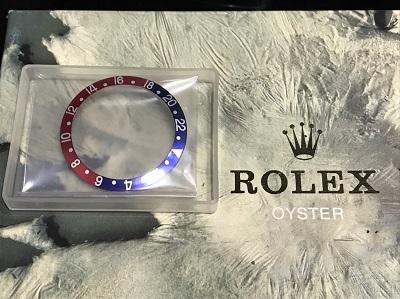 ロレックス GMTマスター用ベゼル Ref.16710、Ref.16700対応 パーツ、付属品でも高価買取