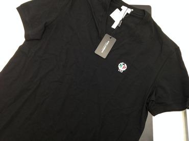 DOLCE&GABBANA ドルチェ&ガッバーナ メンズTシャツ 綿 黒 #XL 高価買取