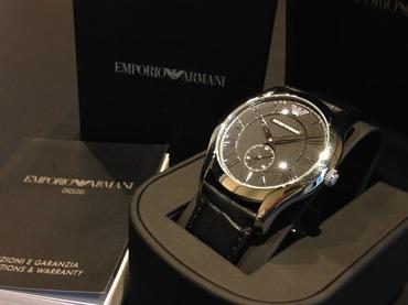 E.ARMANI エンポリオアルマーニ メンズウォッチ AR1703 高価買取 福岡 天神 博多