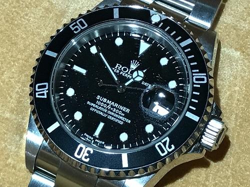 ロレックス(ROLEX)サブマリーナ 16610 P番 時計 ブランド ウォッチ
