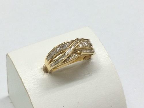 ダイヤモンドリング K18 0.70ct 5.0g 宝石 出張買取