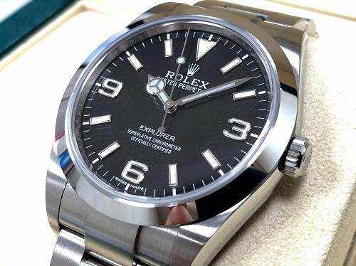 ロレックス(ROLEX) エクスプローラー1 214270 SS 京都大宮店 時計買取