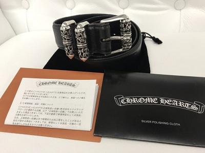 クロムハーツ(CHROME HEARTS) 3PC ケルティックローラーベルト 34inch インボイス付 クロムハーツ買取 神戸 三宮 元町