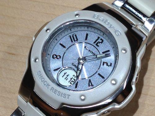 カシオ CASIO ベビージー BABY-G 女性 レディース腕時計 白 G-SHOCK