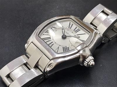 Cartier カルティエ ロードスターPM レディース クォーツ 本体のみ 高価買取 七条店