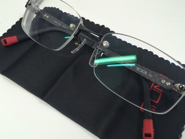 TUMI トゥミ 眼鏡 度入り 美品