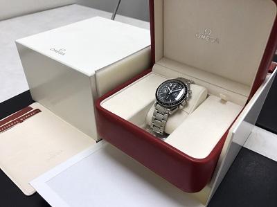 OMEGA オメガ スピードマスター トリプルカレンダー Ref.3520.50 腕時計 高価買取 七条店
