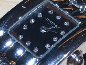 ショーメ(CHAUMET)ケイシス 12ポイントダイヤ レディースウォッチ ステンレス 腕時計