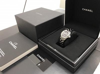 CHANEL シャネル J12 レディース H2569 腕時計 高価買取 七条店