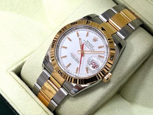 ロレックス(ROLEX) ターノグラフ 116261 SS×YG 腕時計買取 京都四条大宮店