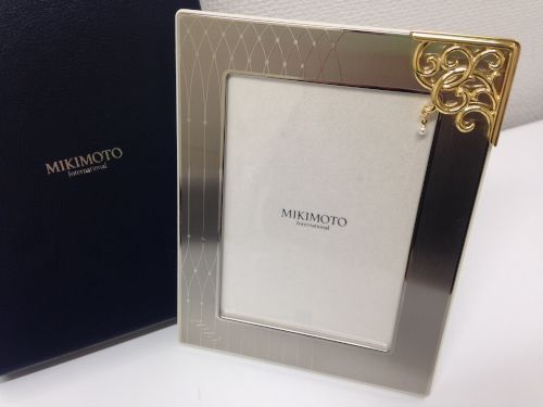 MIKIMOTO ミキモト 写真立て フォトフレーム 小物