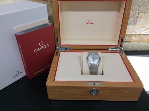 オメガ買取 コンステレーション ステンレス 紳士用腕時計 MARUKA 京都北山店 時計オメガの買取査定