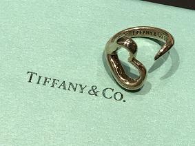Tiffany & Co ティファニー オープンハートリング SV925 ブランドジュエリー 宅配買取