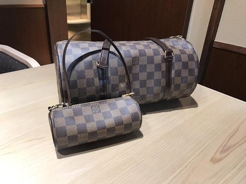 ルイヴィトン Louis Vuitton パピヨン ダミエエベヌ N51303 買取 渋谷