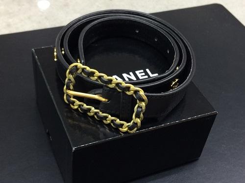 シャネル(CHANEL) ベルト レザー 95P 七条 買取