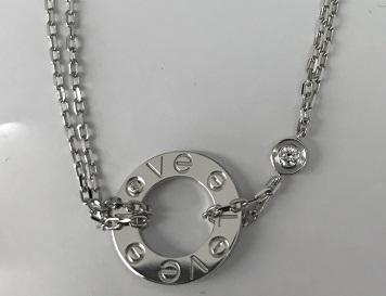 Cartier カルティエ ラブブレスレット 750WG ダイヤモンド ブランドジュエリー買取 福岡 カルティエ買取 天神 博多 大名 赤坂 薬院