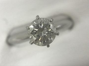 ダイヤモンド買取 立て爪リング 0.98ct 東京 銀座店 宝石高価買取