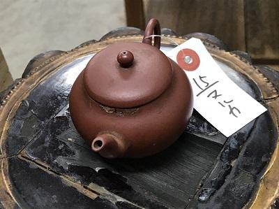 朱泥急須買取 茶道具買取 骨董品買取 マルカ(MARUKA)心斎橋店