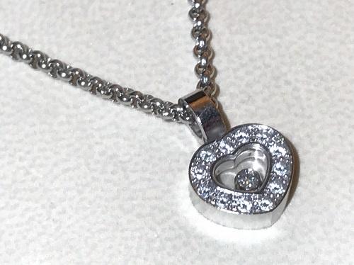 ショパール(CHOPARD)ハッピーダイヤモンドネックレス買取 渋谷 ダイヤ