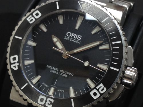 ORIS オリス アクイスデイト 017337653 高価買取り 京都 七条