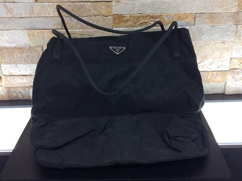 プラダ (PRADA) トートバッグ ナイロン 廃盤モデル ブラック MARUKA 京都北山店 ブランド売るなら老舗マルカで!