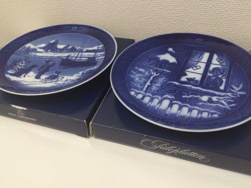 ROYALCOPENHAGEN ロイヤルコペンハーゲン 食器皿 未使用 美品
