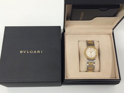 ブルガリ(BVLGARI)ブルガリブルガリ SS×ゴールド レディースウォッチ 宅配買取