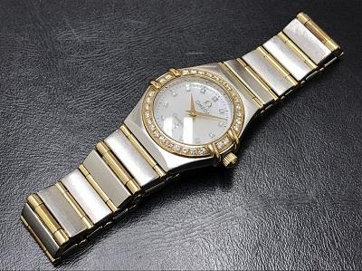 OMEGA オメガ コンステレーション ミニ 腕時計 コンビ レディース 高価買取 七条店